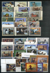 6612: USA Duck Hunting Stamps - Sammlungen