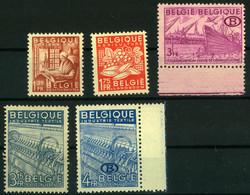 1815: Belgien Dienstmarken der Eisenbahnverwaltung