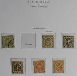7160: Sammlungen und Posten Italienische Staaten - Lot