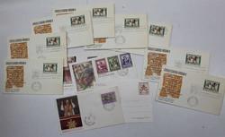 6630: Vatikanstaat - Briefe Posten