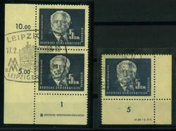 1380: German Democratic Republic - Sheet margins / corners