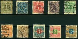 2355: Dänemark - Verrechnungsmarken