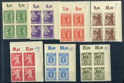 1370: Sowjetische Zone - Bogenränder / Ecken