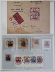 360: Deutsche Besetzung I. WK Belgien - Sammlungen