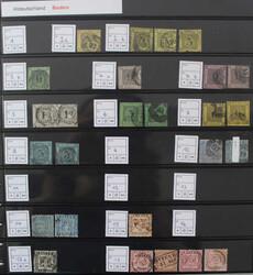 7005: Sammlungen und Posten Altdeutschland - Lot