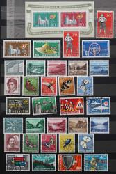 5655: Schweiz - Lot Nominale
