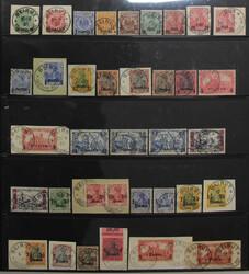 160: Deutsche Auslandspost Türkei - Sammlungen