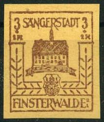 885: Deutsche Lokalausgabe Finsterwalde