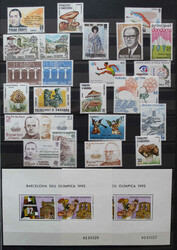 7100: Sammlungen und Posten Andorra - Sammlungen