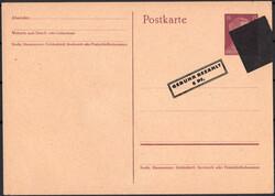 1320020: Französische Zone Aufbrauchsausgaben - Ganzsachen
