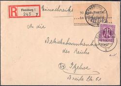 890: Deutsche Lokalausgabe Flensburg