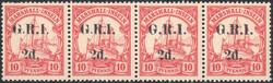 225: Deutsche Kolonien Marshall Brit. Besetzung