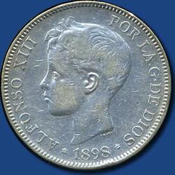 40.500.180: Europa - Spanien - Alfons XIII., 1886 - 1931