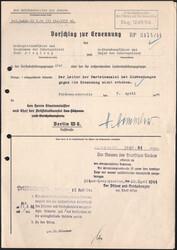 7750: Sammlungen und Posten III.Reich-Propaganda - Autographen