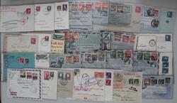 7758: Sammlungen und Posten Zensurpost - Briefe Posten