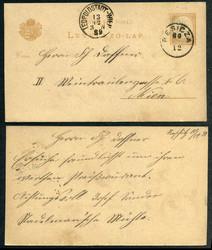 5405: Rumänien - Briefe Posten