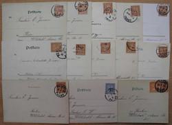 140: Deutsches Reich Stadtpost - Briefe Posten