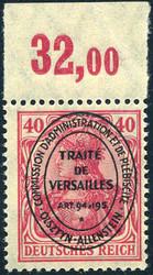 300: Allenstein - Bogenränder / Ecken