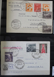 7100: Sammlungen und Posten Andorra - Briefe Posten