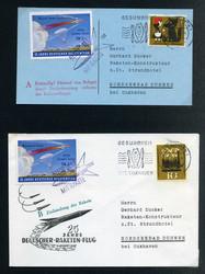 449020: Luftfahrt, Raketenpost, deutsche nach 1945
