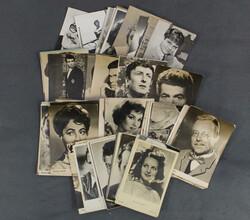 204540: Ansichtskarten, Autographen, Schauspieler