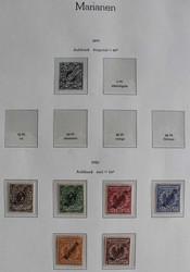 210: Deutsche Kolonien Marianen - Sammlungen