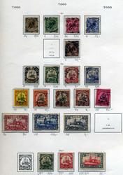 240: Deutsche Kolonien Togo - Sammlungen