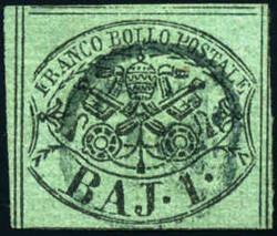 3360: Italien Staaten Kirchenstaat - Stempel