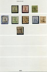 70: Altdeutschland NDP Elsass-Lothringen - Sammlungen