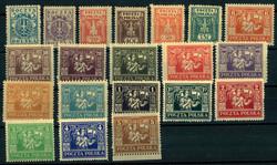 4960: Polen Ausgaben für Ostoberschlesien Reguläre Ausgabe