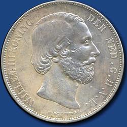 40.360.200.30: Europa - Niederlande - Königreich der Niederlande - Wilhelm III., 1849-1890