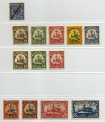 7012: Sammlungen und Posten Dt. Kolonien u. Auslandspostämter - Ganzsachen