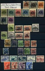 4970: Polen Ausgaben für Port Gdansk - Sammlungen