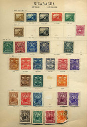 4590: Nicaragua - Sammlungen