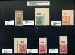 365: Deutsche Besetzung I. WK Etappengebiet West - Sammlungen