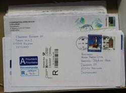 7090: Sammlungen und Posten Baltische Staaten - Briefe Posten