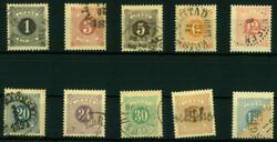 5625: Schweden - Portomarken