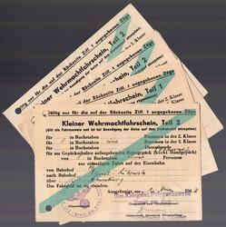 7750: Sammlungen und Posten III.Reich-Propaganda - Dokumente