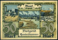 110.80.120: Banknoten - Deutschland - Memelgebiet