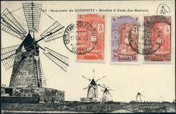 2740: Französisch Somaliküste - Postkarten