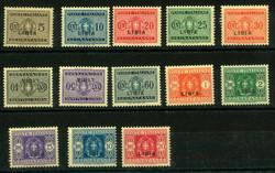 3570: Italienisch-Libyen - Portomarken