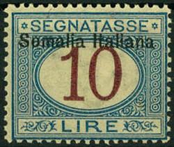 3580: Italienisch Somaliland - Portomarken