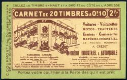 1665: Algerien - Markenheftchen