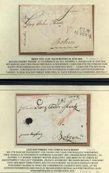 7700: Sammlungen und Posten Vorphilatelie - Briefe Posten