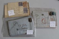 1810: Belgien - Briefe Posten