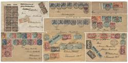 340: Danzig - Briefe Posten