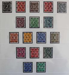 1305: Bizone - Sammlungen
