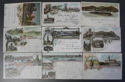 7900: Sammlungen und Posten Ansichtskarten Deutschland - Briefe Posten
