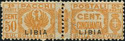 3570: Italienisch-Libyen - Paketmarken