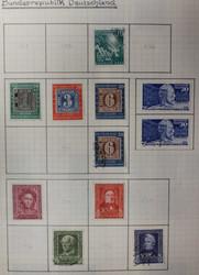 1315: Bizone Zwangszuschlagsmarken - Sammlungen
